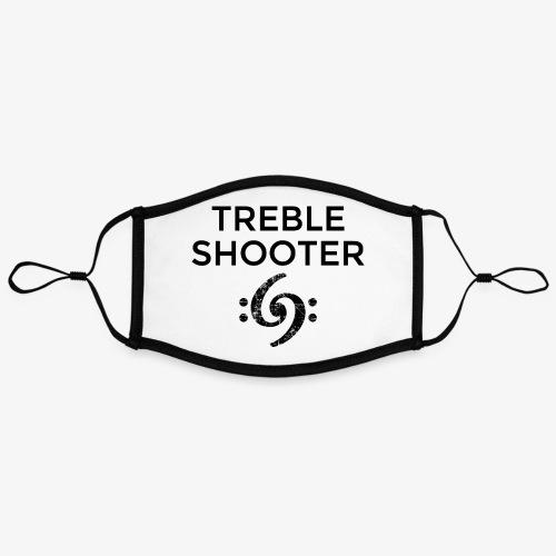 Treble Shooter Bass Design (Black) - Kontrastmaske, einstellbar (Large)