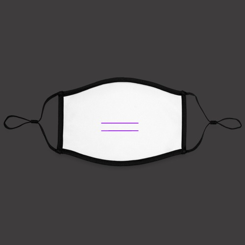 161003 Logo lilalinien ke - Kontrastmaske, einstellbar (Large)