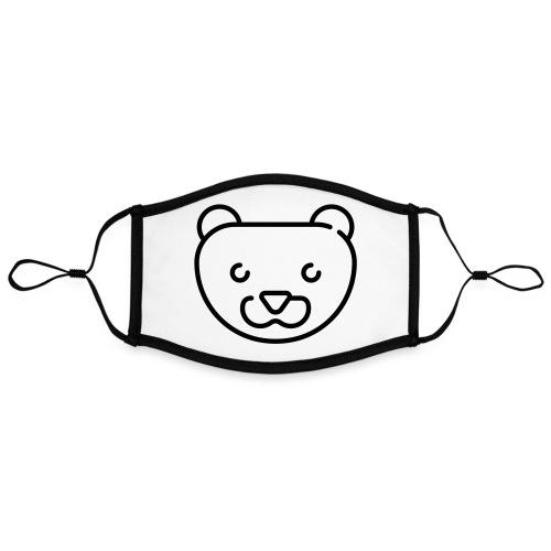 Simpel Stor Mink - Kontrastmaske, indstillelig (large)