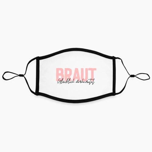 Braut - glücklich verheiratet - Contrast mask, adjustable (large)