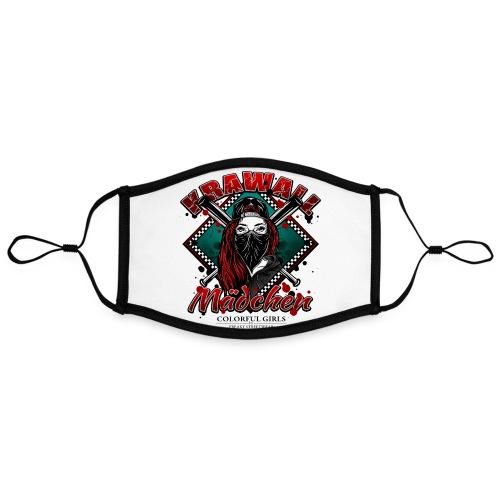 Krawallmädchen - Kontrastmaske, einstellbar (Large)