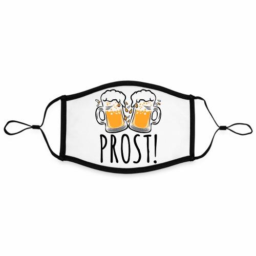 03 Zwei Mass Bier PROST 3c - Kontrastmaske, einstellbar (Large)