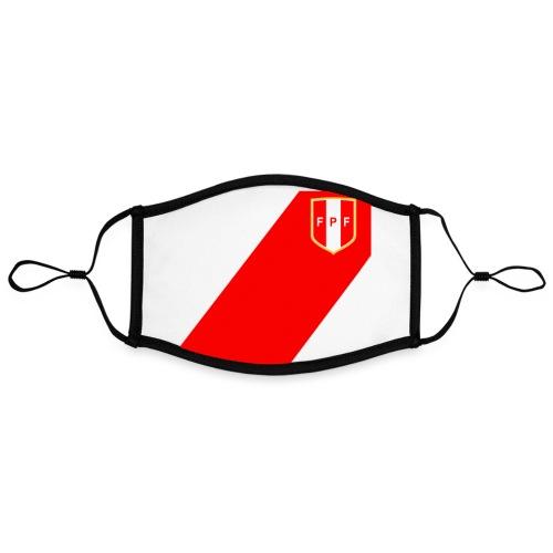 Seleccion peruana de futbol - Masque contrasté, réglable (taille L)