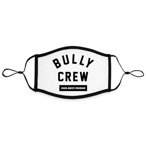 Bully Crew Letters - Kontrastmaske, einstellbar (Large)