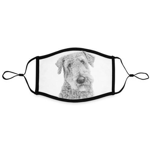 airedale terrier - Kontrastmaske, indstillelig (large)