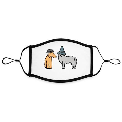 Hütehunde Hunde mit Hut Huetehund - Kontrastmaske, einstellbar (Large)