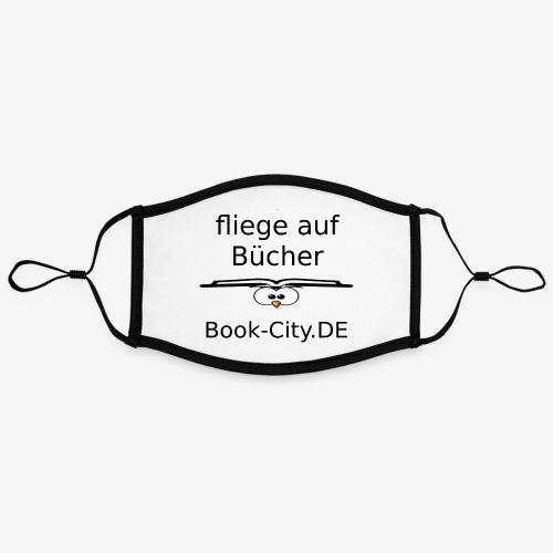 ich fliege auf Bücher - Kontrastmaske, einstellbar (Large)