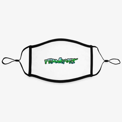 Gangster Frankfurt - Kontrastmaske, einstellbar (Large)