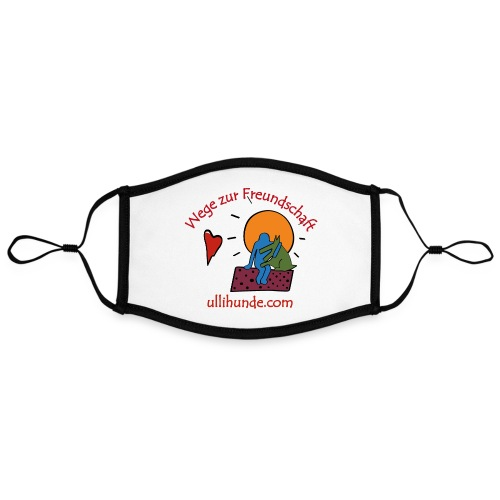 Ullihunde - Wege zur Freundschaft - Kontrastmaske, einstellbar (Large)