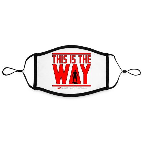 This Is The OneWheel Way - Kontrastmaske, indstillelig (large)