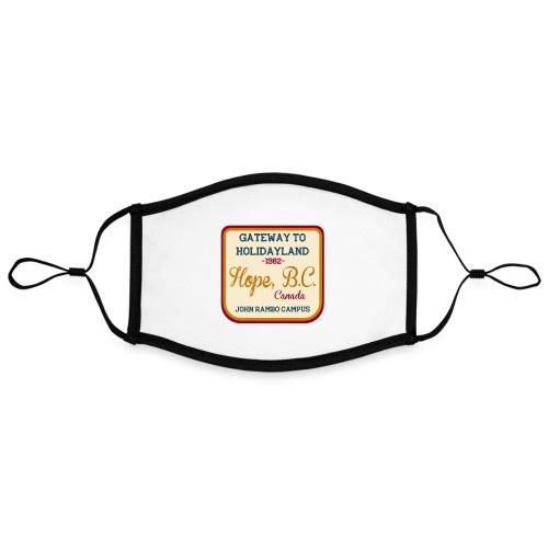Rambo Hope Holidayland - Kontrastowa maska, regulowana (rozmiar L)