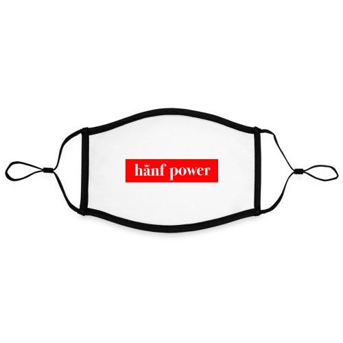Hanf Power RED - Kontrastmaske, einstellbar (Large)