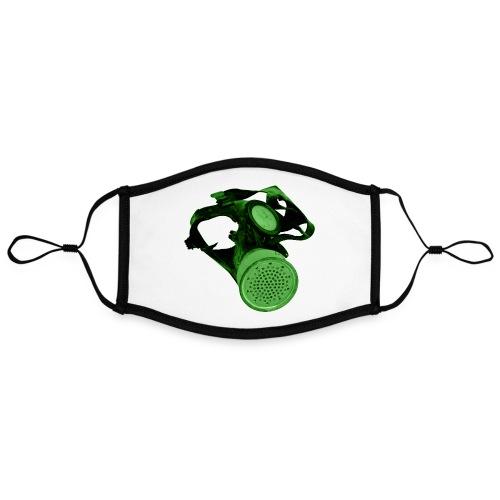 gas shield - Contrast mask, adjustable (large)
