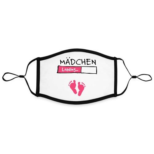 Mädchen loading // Schwangerschaft T-Shirt - Kontrastmaske, einstellbar (Large)