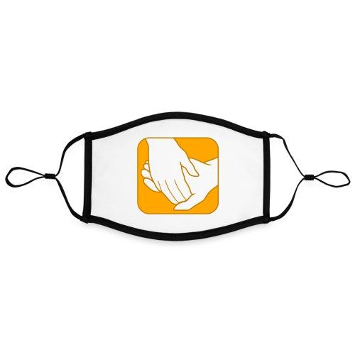 Logo der ÖRSG - Rett Syndrom Österreich - Kontrastmaske, einstellbar (Large)