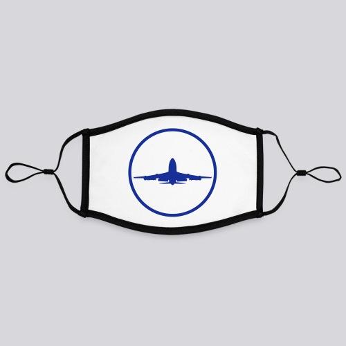 IVAO (symbole bleu) - Masque contrasté, réglable (taille L)