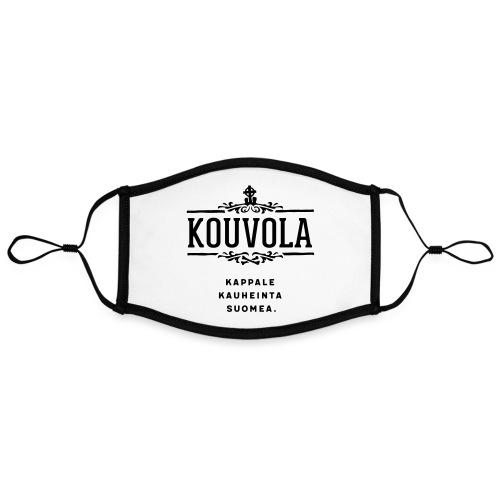 Kouvola - Kappale kauheinta Suomea. - Kontrastivärinen maski, säädettävä (large)