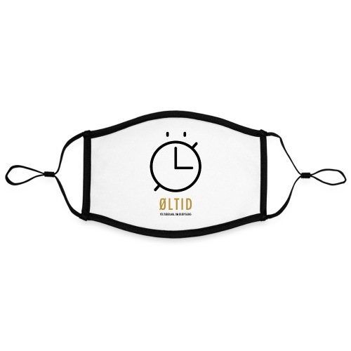 ØLTID logo svart - Kontrastmaske, kan innstilles (stor)