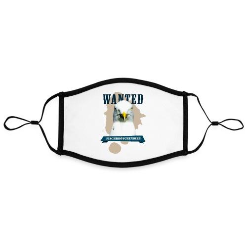 WANTED - Fischbrötchendieb - Kontrastmaske, einstellbar (Large)