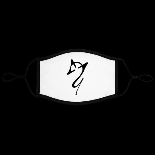 Overscoped Logo - Contrast mask, adjustable (large)