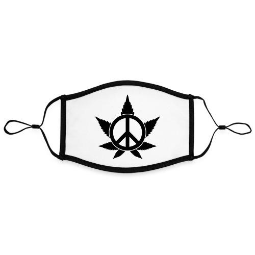 Peace - Kontrastmaske, einstellbar (Large)