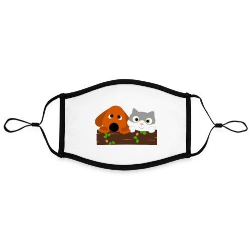 Hund & Katz - Kontrastmaske, einstellbar (Large)