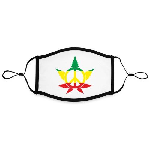 Peace färbig - Kontrastmaske, einstellbar (Large)
