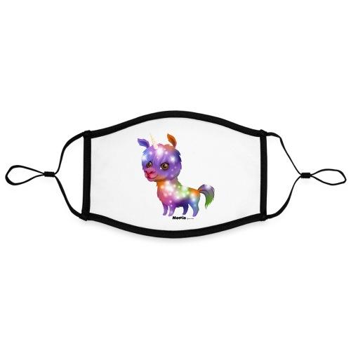 Llamakorn - Kontrastowa maska, regulowana (rozmiar L)