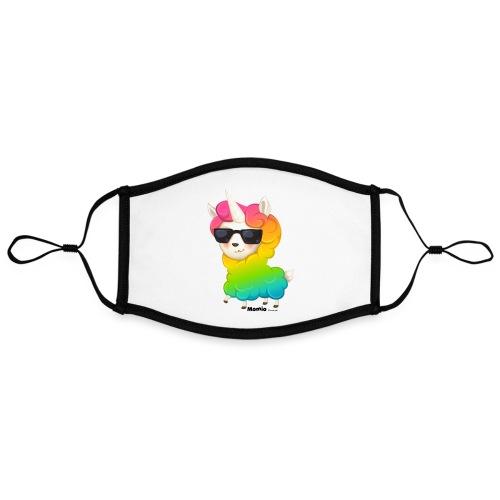 Rainbow animo - Kontrastmaske, kan innstilles (stor)