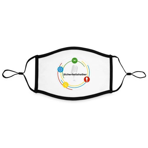 Sicherheitshalber Logo - Kontrastmaske, einstellbar (Large)