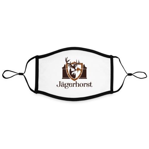 Jägerhorst Logo - Kontrastmaske, einstellbar (Large)