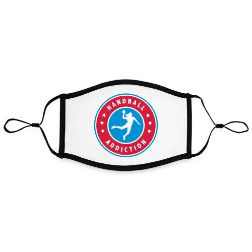 handball addiction femme - Masque contrasté, réglable (taille L)
