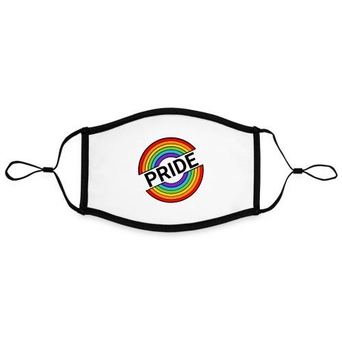 Pride regnbue - Kontrastmaske, indstillelig (large)