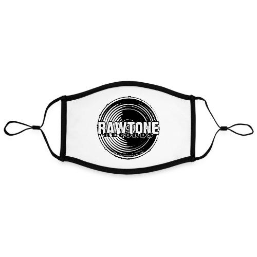 Rawtone Records - full logo - Contrast mask, adjustable (large)
