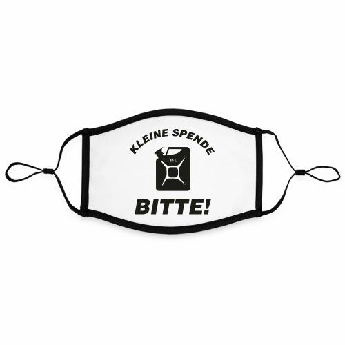Kleine Spende bitte - Kontrastmaske, einstellbar (Large)