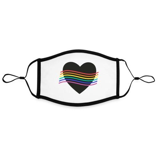 PROUD HEART - Kontrastmaske, einstellbar (Large)