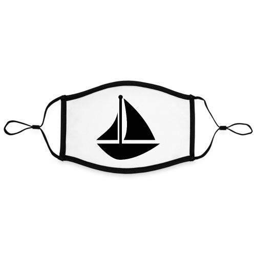 boat Printdesign - Kontrastmaske, einstellbar (Large)