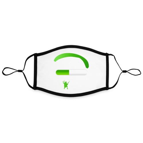 Paraglider Loading - Kontrastmaske, einstellbar (Large)