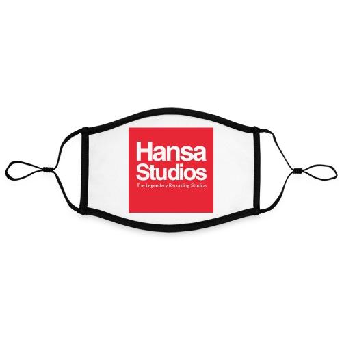 Hansa Studios | Red Line - Kontrastmaske, einstellbar (Large)