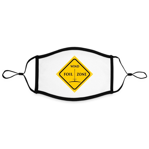 WINDFOIL zone logo new smaller - Contrast mask, adjustable (large)