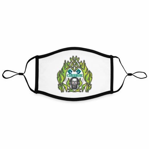 Cruiser Skull Green - Kontrastmaske, einstellbar (Large)