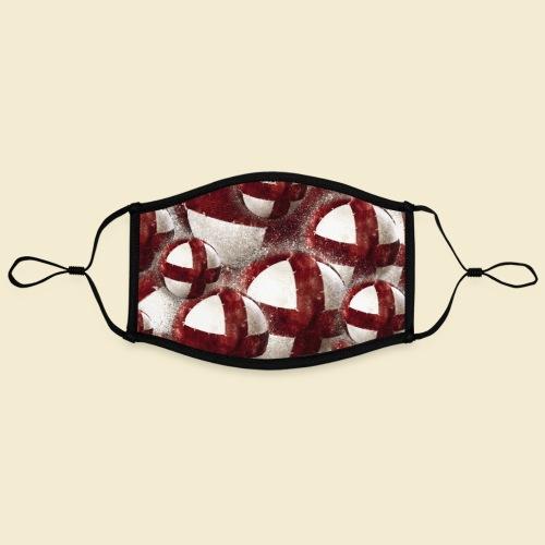Radball   Cycleball   Muster - Kontrastmaske, einstellbar (Large)