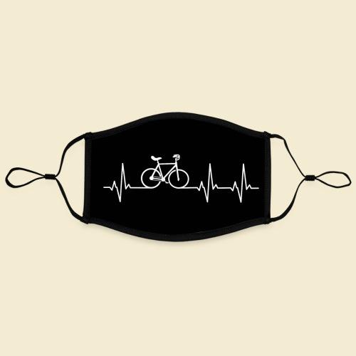 Kunstrad | Heart Monitor Maske - Kontrastmaske, einstellbar (Large)