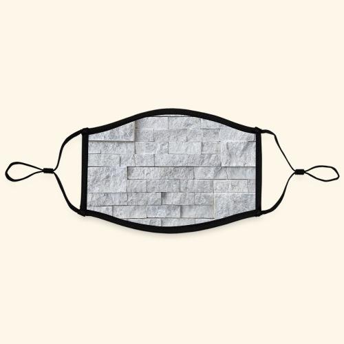 klaagmuur 01 - Contrasterend mondkapje, instelbaar (Large)