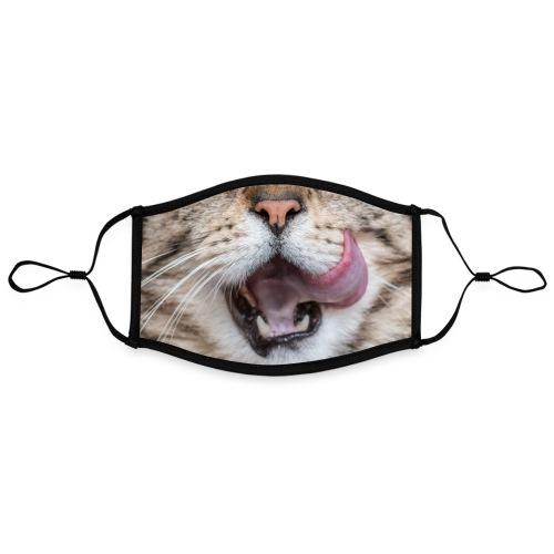 la langue au chat - Masque contrasté, réglable (taille L)