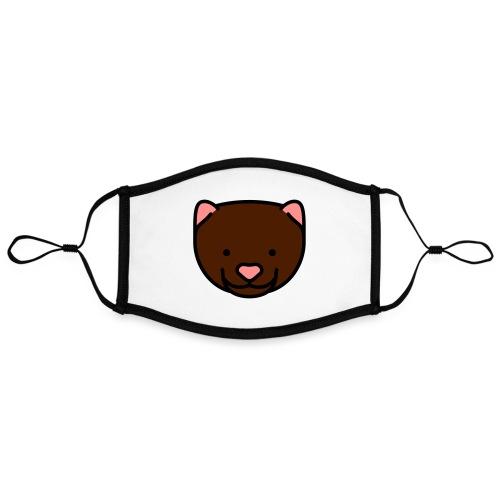 Mink Maske - Kontrastmaske, indstillelig (large)