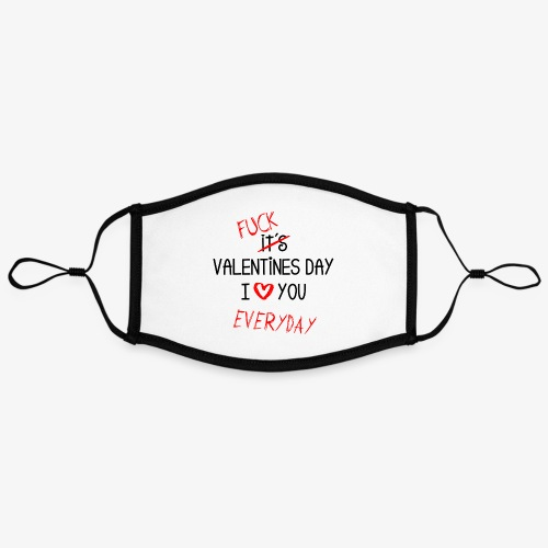 I love you everyday - Kontrastmaske, einstellbar (Large)