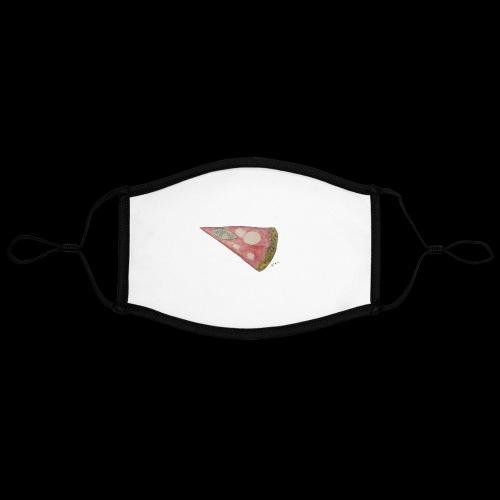 BY TAiTO Pizza Slice - Kontrastivärinen maski, säädettävä (large)