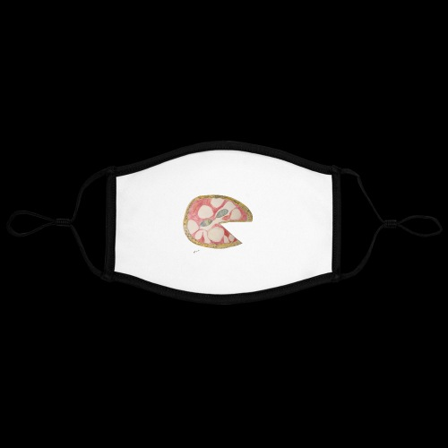 BY TAiTO Big Pizza - Kontrastivärinen maski, säädettävä (large)