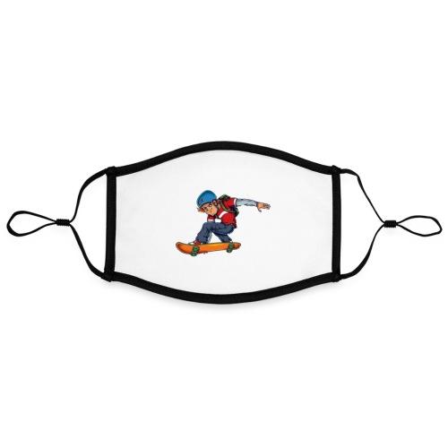Skater - Contrast mask, adjustable (large)